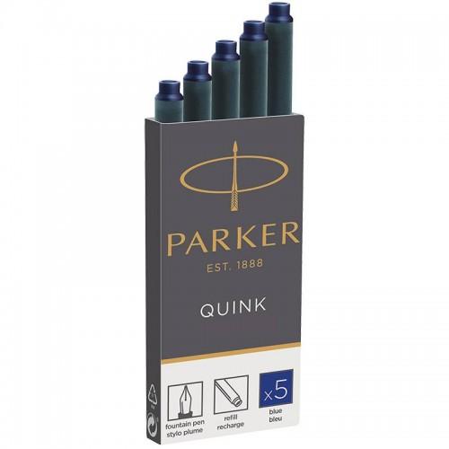 Синие картриджи Parker (Паркер) Quink Cartridges Blue 5шт в Екатеринбурге