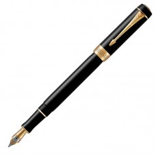 Перьевая ручка Parker (Паркер) Duofold Classic International Black GT F