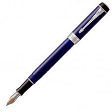 Перьевая ручка Parker (Паркер) Duofold International Classic Blue & Black CT F