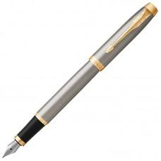 Перьевая ручка Parker (Паркер) IM Core Brushed Metal GT F