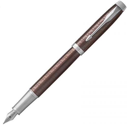 Перьевая ручка Parker (Паркер) IM Premium Brown CT F в Екатеринбурге