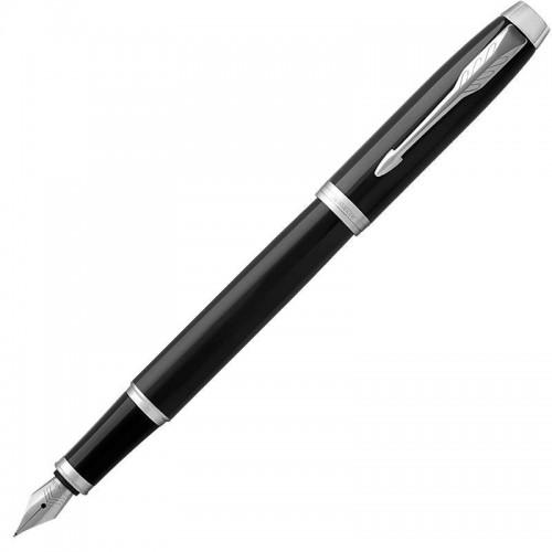 Перьевая ручка Parker (Паркер) IM Core Black Chrome CT F в Екатеринбурге