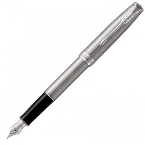 Перьевая ручка Parker (Паркер) Sonnet Core Stainless Steel CT F в Екатеринбурге