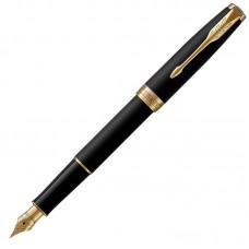 Перьевая ручка Parker (Паркер) Sonnet Core Matte Black Lacquer GT F