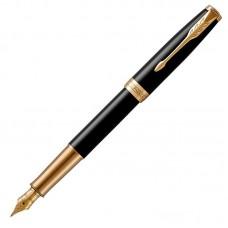 Перьевая ручка Parker (Паркер) Sonnet Core Black Lacquer GT F
