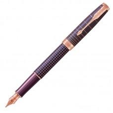 Перьевая ручка Parker (Паркер) Sonnet Luxury Purple Matrix PGT F