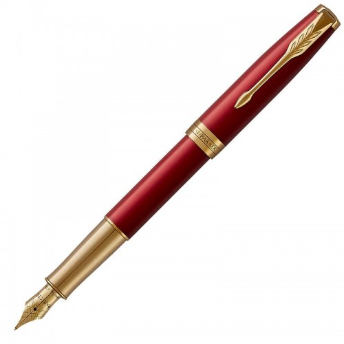 Перьевая ручка Parker (Паркер) Sonnet Core Red Lacquer GT F 18k в Екатеринбурге