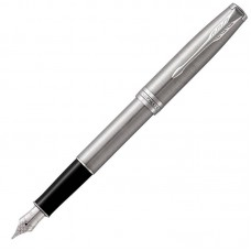 Перьевая ручка Parker (Паркер) Sonnet Core Stainless Steel CT F