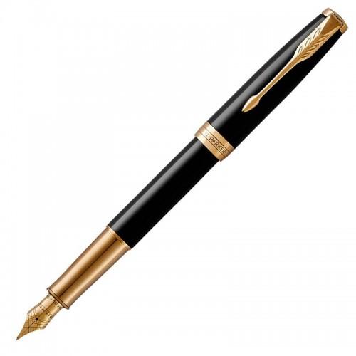 Перьевая ручка Parker (Паркер) Sonnet Core Black Lacquer GT F в Екатеринбурге