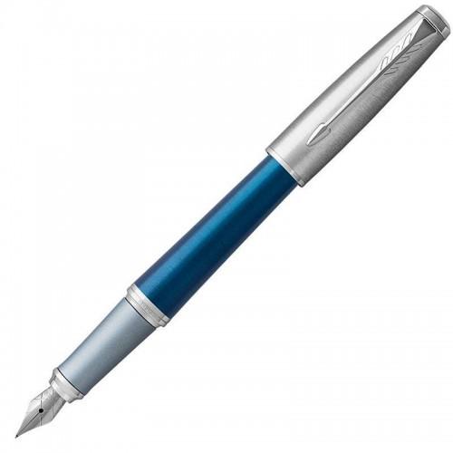 Перьевая ручка Parker (Паркер) Urban Premium Dark Blue CT F в Екатеринбурге