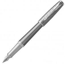 Перьевая ручка Parker (Паркер) Urban Premium Silvered Powder CT F