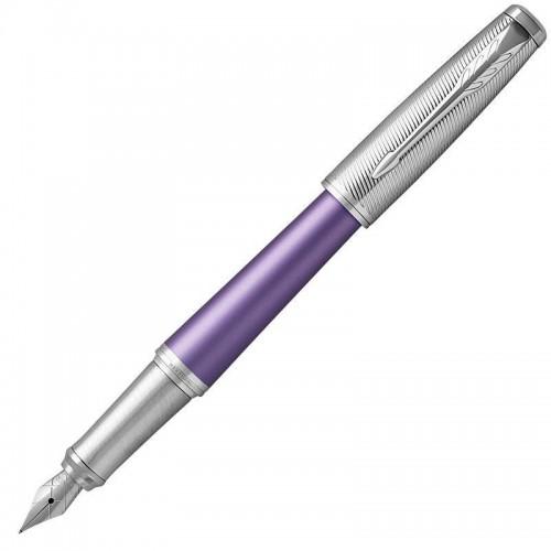 Перьевая ручка Parker (Паркер) Urban Premium Violet CT F в Екатеринбурге