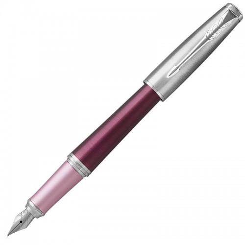 Перьевая ручка Parker (Паркер) Urban Premium Dark Pink CT F в Екатеринбурге