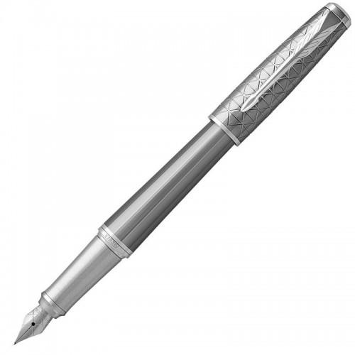 Перьевая ручка Parker (Паркер) Urban Premium Silvered Powder CT F в Екатеринбурге