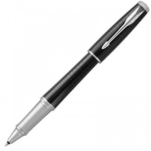 Ручка-роллер Parker (Паркер) Urban Premium Ebony Metal Chiselled CT в Екатеринбурге