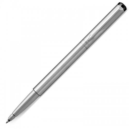 Ручка-роллер Parker (Паркер) Vector Standard Stainless Steel CT в Екатеринбурге