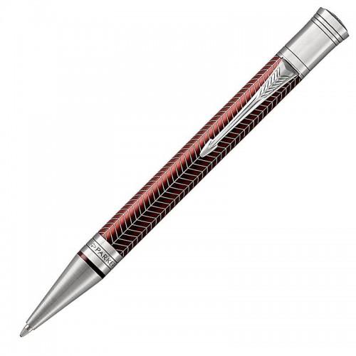 Шариковая ручка Parker (Паркер) Duofold Prestige Burgundy Chevron CT в Екатеринбурге