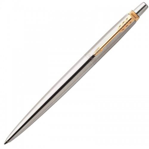 Шариковая ручка Parker (Паркер) Jotter Core Stainless Steel GT в Екатеринбурге