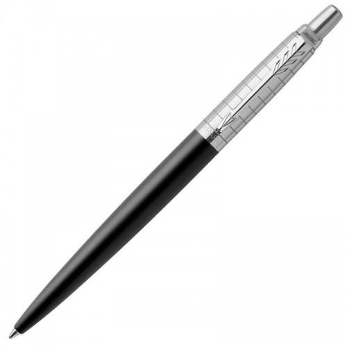 Шариковая ручка Parker (Паркер) Jotter Premium Bond Street Black Grid CT в Екатеринбурге