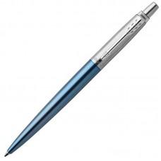 Шариковая ручка Parker (Паркер) Jotter Gel Core Waterloo Blue CT с гелевым стержнем