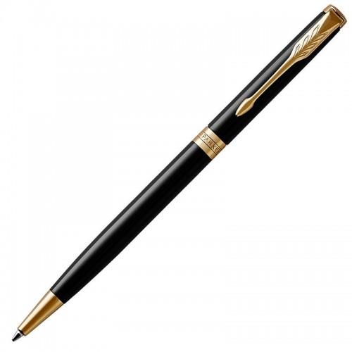 Шариковая ручка Parker (Паркер) Sonnet Core Slim Black Lacquer GT в Екатеринбурге