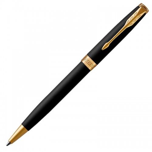 Шариковая ручка Parker (Паркер) Sonnet Core Matte Black Lacquer GT в Екатеринбурге