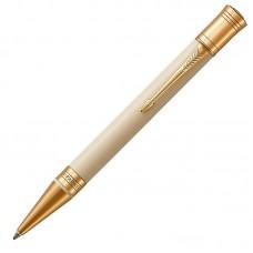 Шариковая ручка Parker (Паркер) Duofold Classic Ivory & Black GT