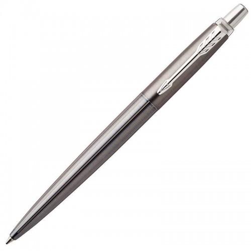 Шариковая ручка Parker (Паркер) Jotter Gel Premium Oxford Grey Pinstripe CT с гелевым стержнем в Екатеринбурге