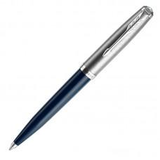 Шариковая ручка Parker (Паркер) 51 Core Midnight Blue CT M