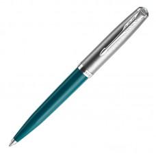 Шариковая ручка Parker (Паркер) 51 Core Teal Blue CT M