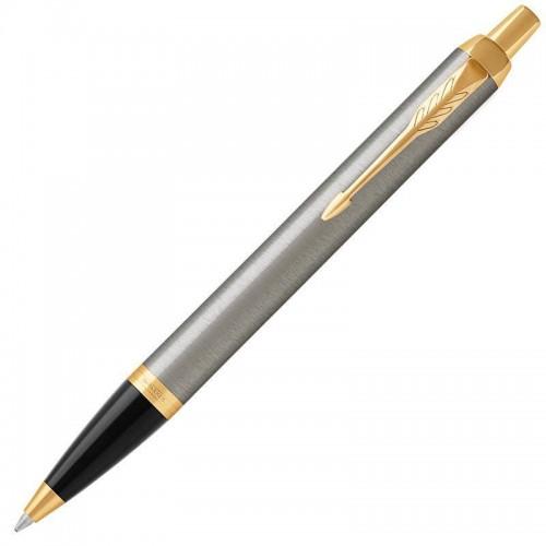 Шариковая ручка Parker (Паркер) IM Core Brushed Metal GT в Екатеринбурге