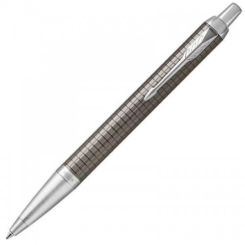 Шариковая ручка Parker (Паркер) IM Premium Dark Espresso Chiselled CT в Екатеринбурге