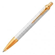 Шариковая ручка Parker (Паркер) IM Premium Pearl GT
