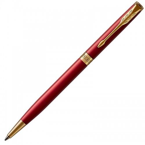 Шариковая ручка Parker (Паркер) Sonnet Core Slim Red Lacquer GT в Екатеринбурге