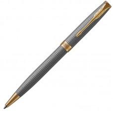 Шариковая ручка Parker (Паркер) Sonnet Luxury Cisele Silver GT