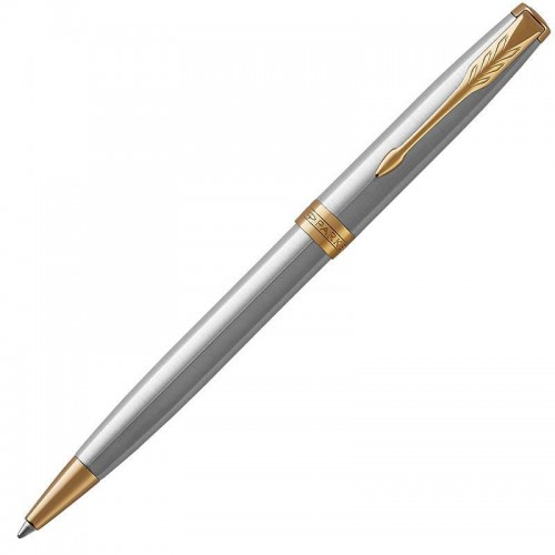 Шариковая ручка Parker (Паркер) Sonnet Core Stainless Steel GT в Екатеринбурге