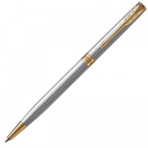 Шариковая ручка Parker (Паркер) Sonnet Core Slim Stainless Steel GT в Екатеринбурге