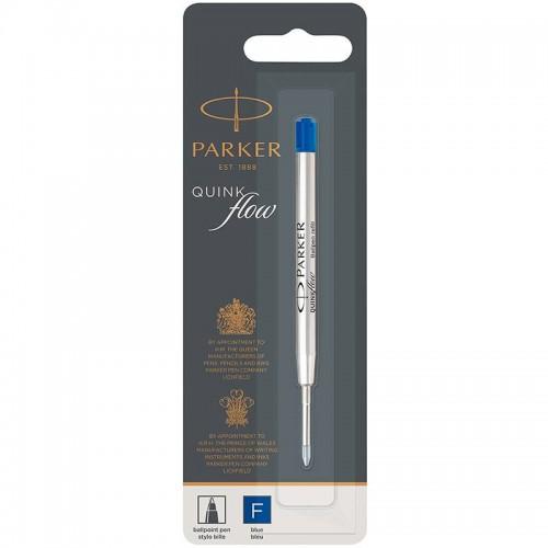 Синий шариковый стержень Parker (Паркер) Ball Pen Refill QuinkFlow Premium F Blue в Екатеринбурге