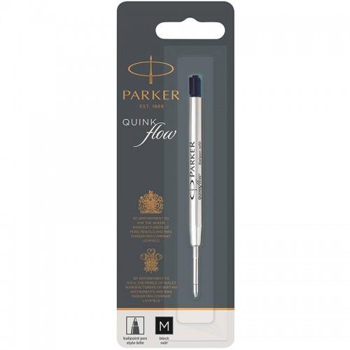 Чёрный шариковый стержень Parker Ball Pen Refill QuinkFlow Premium M Black в Екатеринбурге