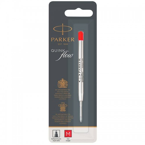 Красный шариковый стержень Parker (Паркер) Ball Pen Refill QuinkFlow Premium M Red в Екатеринбурге
